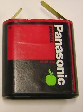 flachbatterien 4 5v 3r12 gut preiswert rec electronic riedinger. Black Bedroom Furniture Sets. Home Design Ideas